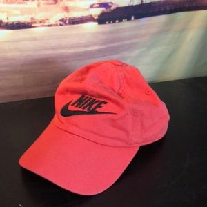 dceb2194092 Reddish orange Nike dad hat